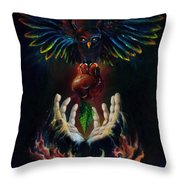 The Gift Throw Pillow by Kd Neeley
