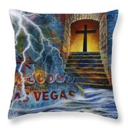 The Gift Called Grace Throw Pillow