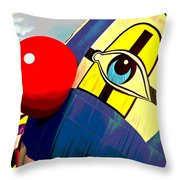 The Giggle Throw Pillow