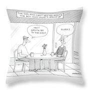 'the Girl Who Can't Say No Meets The Boy Who Throw Pillow