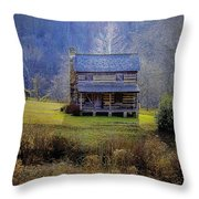 The Gladie Cabin  Throw Pillow