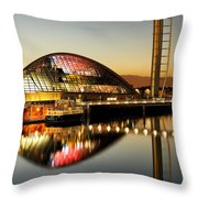 The Glasgow Science Centre Throw Pillow