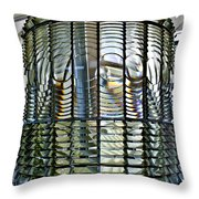 The Glass Beehive  Throw Pillow