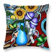 The Glory Of It Throw Pillow
