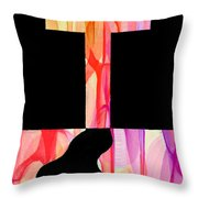 The Glory Of The Cross Throw Pillow
