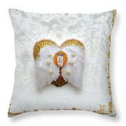 The Goddess Of The Golden Temple Throw Pillow