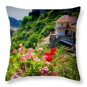 The Godfather Villages Of Sicily Throw Pillow
