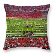 The Going Band From Raiderland Throw Pillow