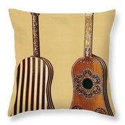 The Gold Temple Of The Principal Idol Throw Pillow