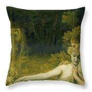 The Golden Age, 1897-98 Throw Pillow