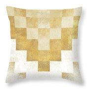 The Golden Path Throw Pillow