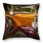 The Golden Twenties Throw Pillow