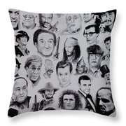 The Good Bad And Ugly Throw Pillow