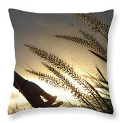 The Good Earth Throw Pillow