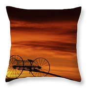 The Good Old Days Throw Pillow by Bob Christopher