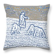 The Good Shepherd 2 Throw Pillow