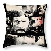 The Good The Bad And The Ugly Throw Pillow