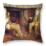 The Gossip Throw Pillow