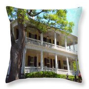 The Governors House Inn Throw Pillow