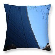 The Grace Building Throw Pillow