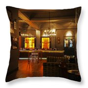 The Grand Cafe Southampton Throw Pillow