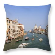 The Grand Canal, Venice Throw Pillow