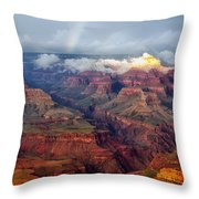 The Grand Canyon After The Storm Throw Pillow