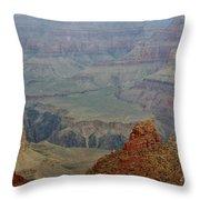 The Grand Canyon Throw Pillow