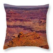The Grand Canyon V Throw Pillow