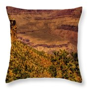 The Grand Canyon Vintage Americana II Throw Pillow