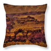 The Grand Canyon Vintage Americana Viii Throw Pillow
