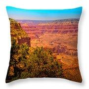 The Grand Canyon Xi Throw Pillow