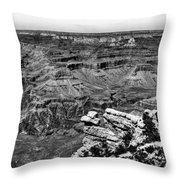 The Grand Canyon Xiii Throw Pillow
