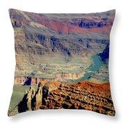 The Grand Design Throw Pillow