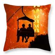 The Grand Finale Throw Pillow