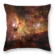 The Great Nebula In Carina Throw Pillow
