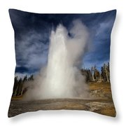The Grand Rocket Throw Pillow