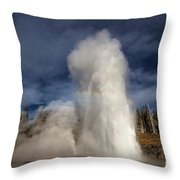 The Grand Show Throw Pillow