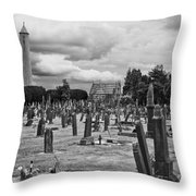 The Graves Throw Pillow