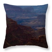 The Great Abyss Throw Pillow