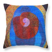 The Great Amma In Usual Light Throw Pillow