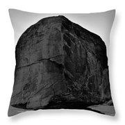 The Great Boulder Throw Pillow