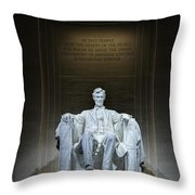 The Great Emancipator Throw Pillow