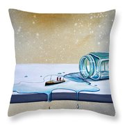 The Great Escape Throw Pillow by Cindy Thornton