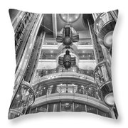 The Great Glass Elevators Throw Pillow