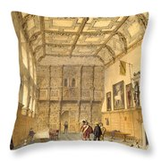 The Great Hall, Hatfield, Berkshire Throw Pillow