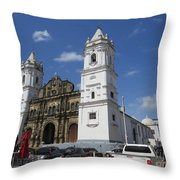 The Great Lady A Throw Pillow