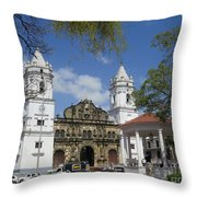 The Great Lady B Throw Pillow