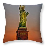 The Great Lady Throw Pillow
