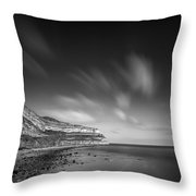 The Great Orme Throw Pillow by Dave Bowman
